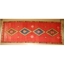 Antique Persian Kilim 5' x 12'