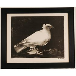 "Pablo Picasso ""Dove of Peace"" Lithograph"
