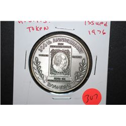 1976 U.S.P.S. 200th Anniversary Under The Continental Congress Token; EST. $3-5
