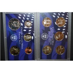 2001-S US Mint Proof Set & US State Quarter Mint Proof Set With COA Included; EST. $10-15