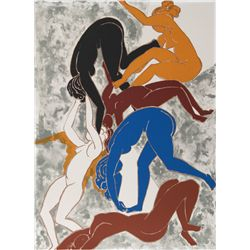 Lorrie Goulet, Dance of Spring, Lithograph