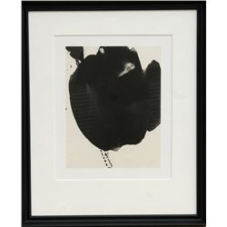 Robert Motherwell, Octavio Paz, Three Poems 6, Lithograph