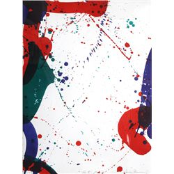 Sam Francis, Untitled (SF-62), Lithograph