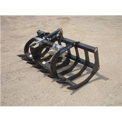 "Versatech Skid Steer 66"" Brush Grapple"