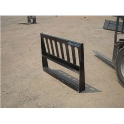 "Versatech Skid Steer 46"" Fork Frame Attachment"