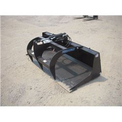 "Versatech Skid Steer 66"" Grapple Bucket"