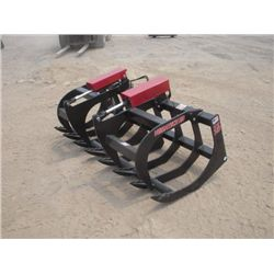 "Versatech Skid Steer 72"" HD Brush Grapple"