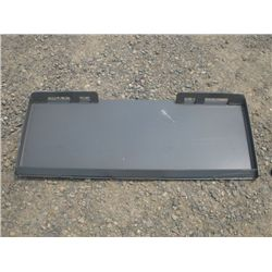 Skid Steer Quick Tach Mount Plate
