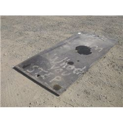 Steel Trench/Street Plate, 4'x8'