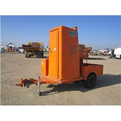 1996 Metal Fab S/A Portable Restroom Trailer