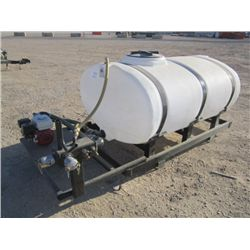 2011 Doghouse Skid Mount Water Tank