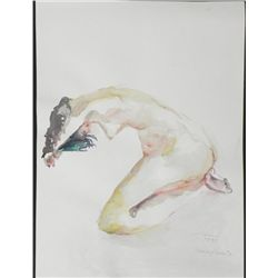 Betty Snyder Rees Original Painting Saturday Nudes #4