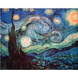 Vincent Van Gogh Starry Night Limited Edition Giclee