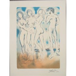 Salvador Dali : The Judgment of Paris Art Print