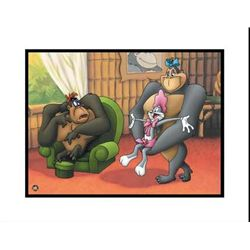 Gorilla My Dreams Art Original Giclee Looney Tunes