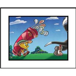 Caddy with a Tattitude Giclee Original Looney Tunes Art