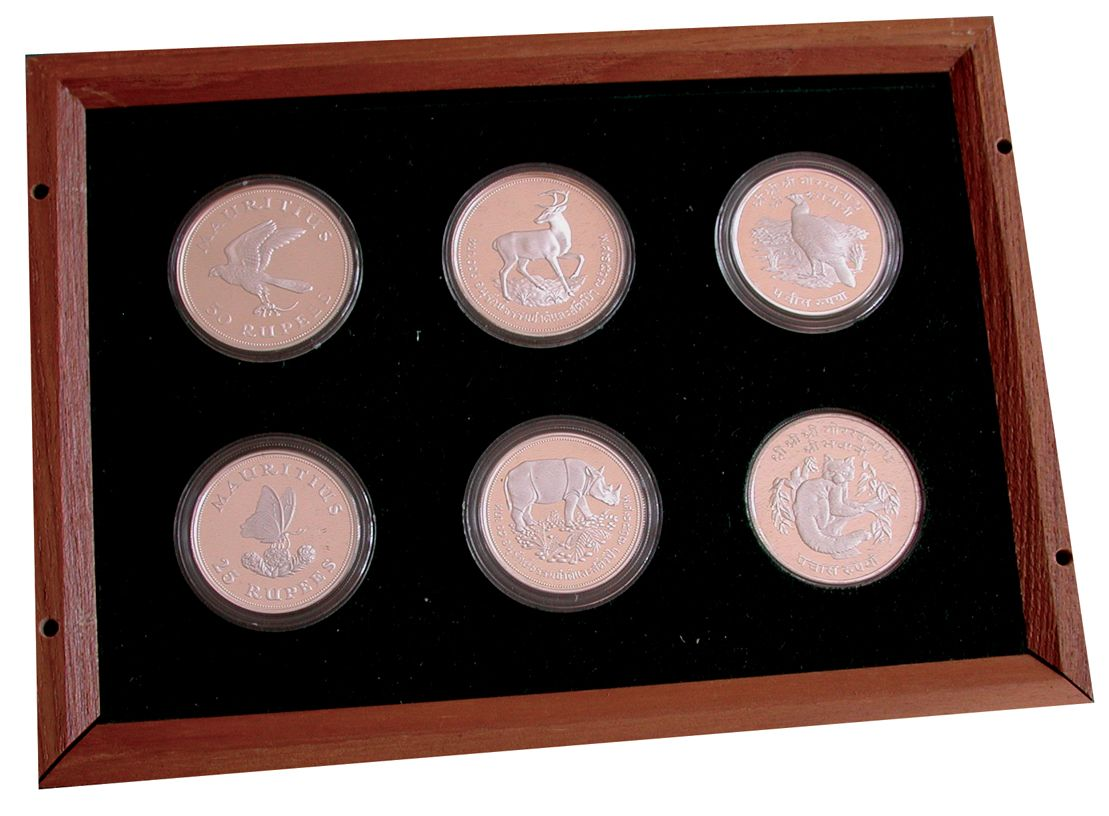 conservation coin collection