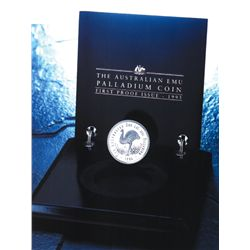 Australia 1995 40 Dollars Palladium Proof Emu