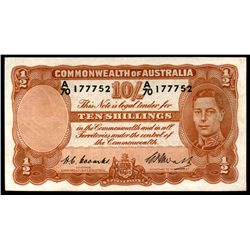 Australia 1949 Coombs-Watt 10 Shillings