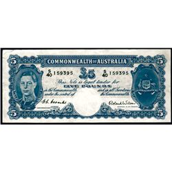 Australia 1952 Coombs-Wilson 5 Pounds
