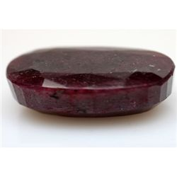 Natural 162.53 ctw African Ruby Oval
