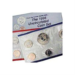 Uncirculated Mint Set 1998