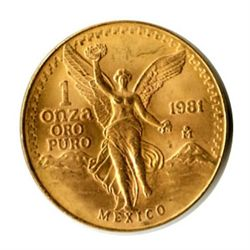 Mexico Gold One Onza (dates our choice)
