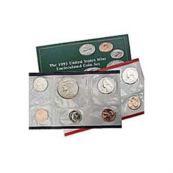 Uncirculated Mint Set 1993