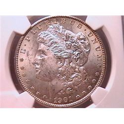 1901-O Morgan Dollar MS63 NGC