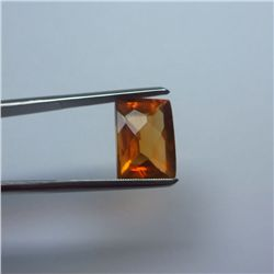 Loose Natural Citrine 12mm x 10mm VERY NICE color tone