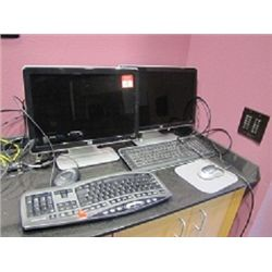 HP MONITOR & KEYBOARD