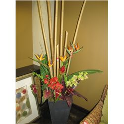 ARTIFICAL FLORAL DECORATIONS (QTY 2)