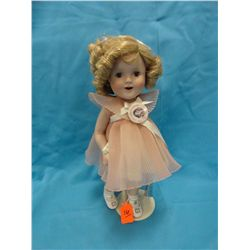 Shirley Temple doll, Danbury mint, pink