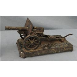 Demley toy cannon w/ platform