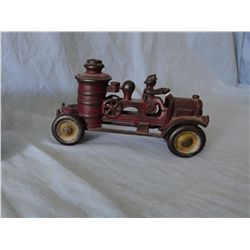 Kenton Toys, Fire truck, cast, Kenton Oh.