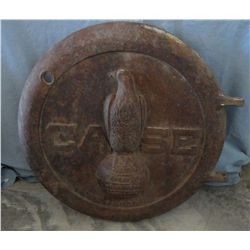 J.J. Case, Steam Engine boiler lid, cast