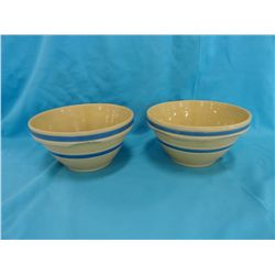 2- Oven Ware bowls, 8""