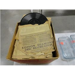 Thick records for Edison Victrola