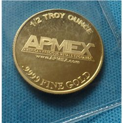 ½ oz. APMex Gold Bullion coin