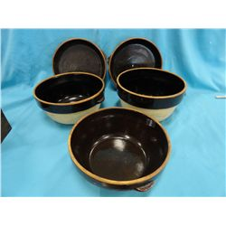 Cook-Rite clay bakeware set, 5 pcs.
