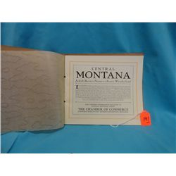Scenic Views of Central Montana, photo booklet, ca. 1920's