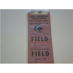 Los Angeles Rams ticket