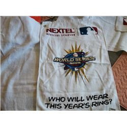 Official 2002 World Series towel
