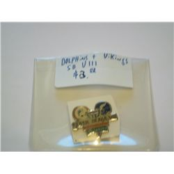 Superbowl VIII pin