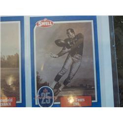 Swell football card, Tom Fears
