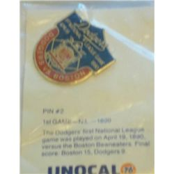 Unocal 76 Dodgers pin #2