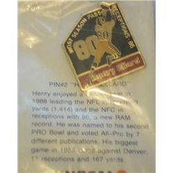 Unocal 76 Rams pin #2, Henry Ellard