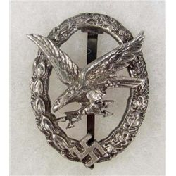 GERMAN NAZI LUFTWAFFE BADGE