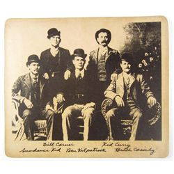 BUTCH CASSIDY & GANG PHOTO PRINT