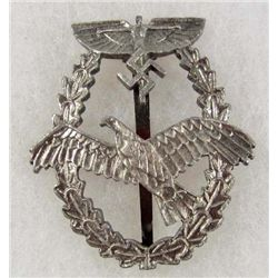 GERMAN NAZI NSKK PILOT BADGE